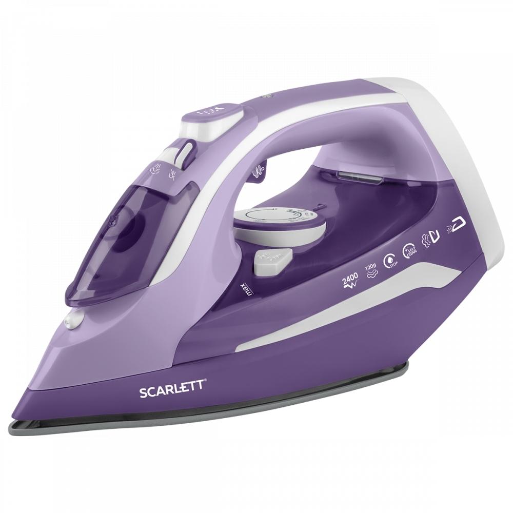 Утюг Scarlett SC SI30K38 Фиолетовый, белый