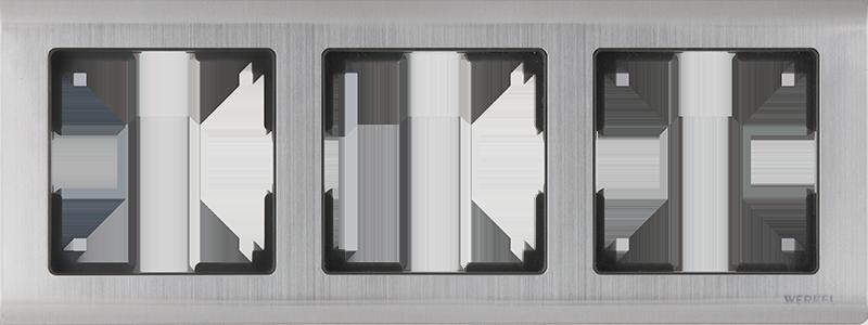 Рамка для выключателя Werkel WL02-Frame-03 a028861 глянцевый никель