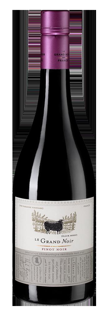 Вино Le Grand Noir Pinot Noir, Les Celliers Jean d\'Alibert, 2017 г.
