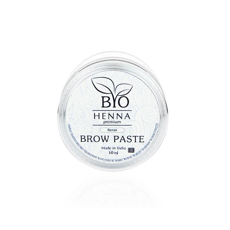 Паста для бровей Bio Henna Premium White