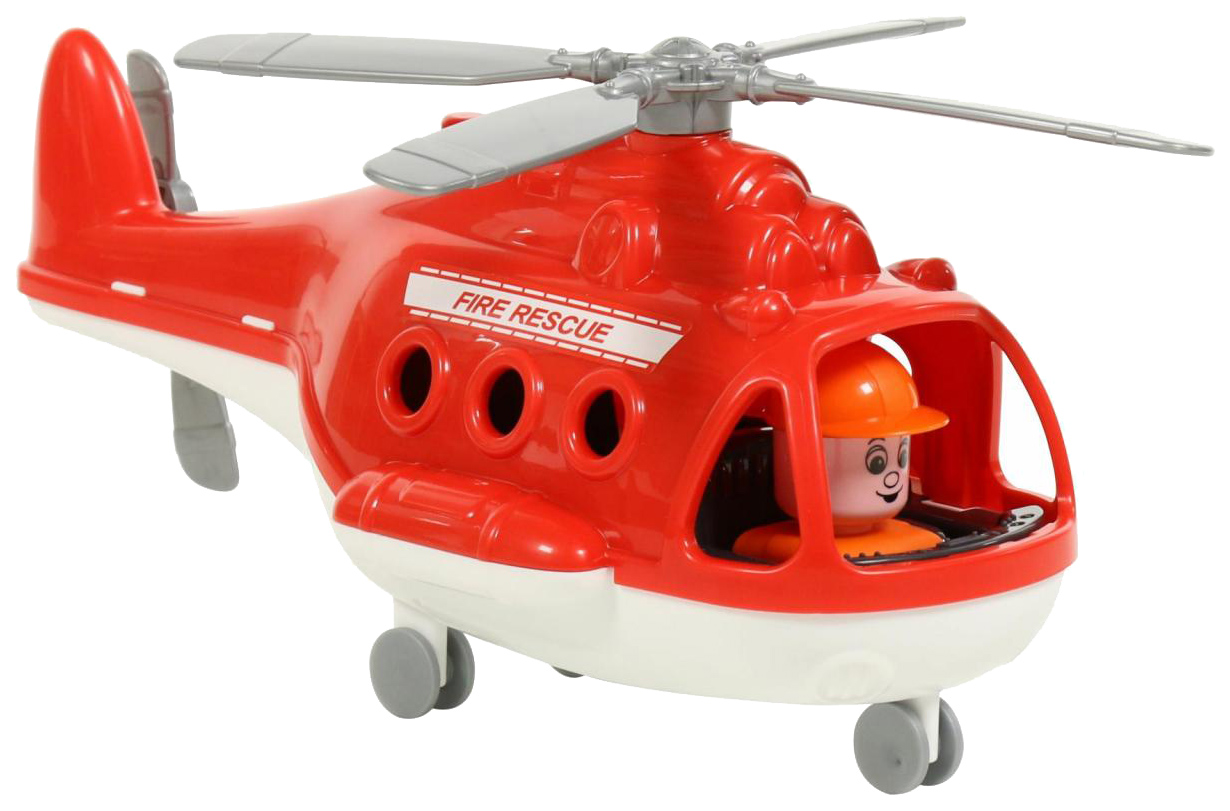 Вертолет Полесье Альфа Пожарный