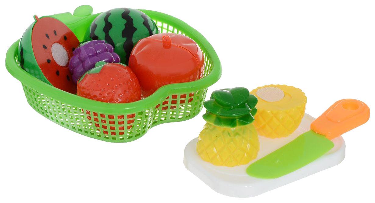Купить Набор фруктов игрушечный Mary Poppins Фрукты в яблоке 453046, Игрушечные продукты