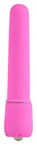 Розовая вибропуля First Time Power Tingler
