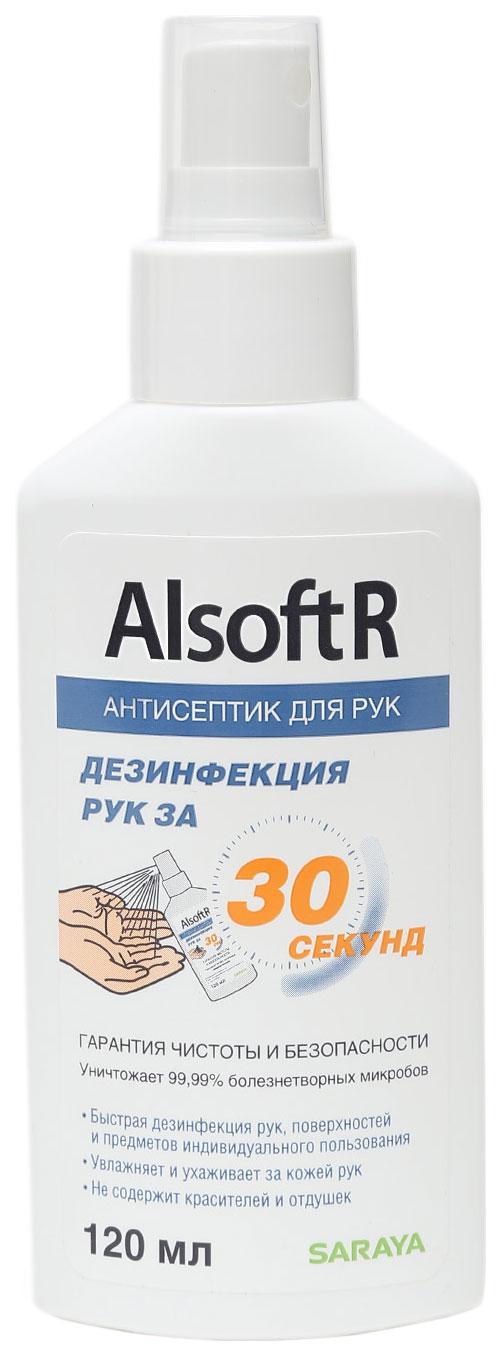 Дезинфецирующее средство для рук Saraya Alsoft R 120 мл