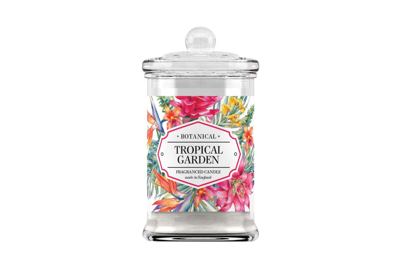 Свеча ароматическая в стекле Тропический сад