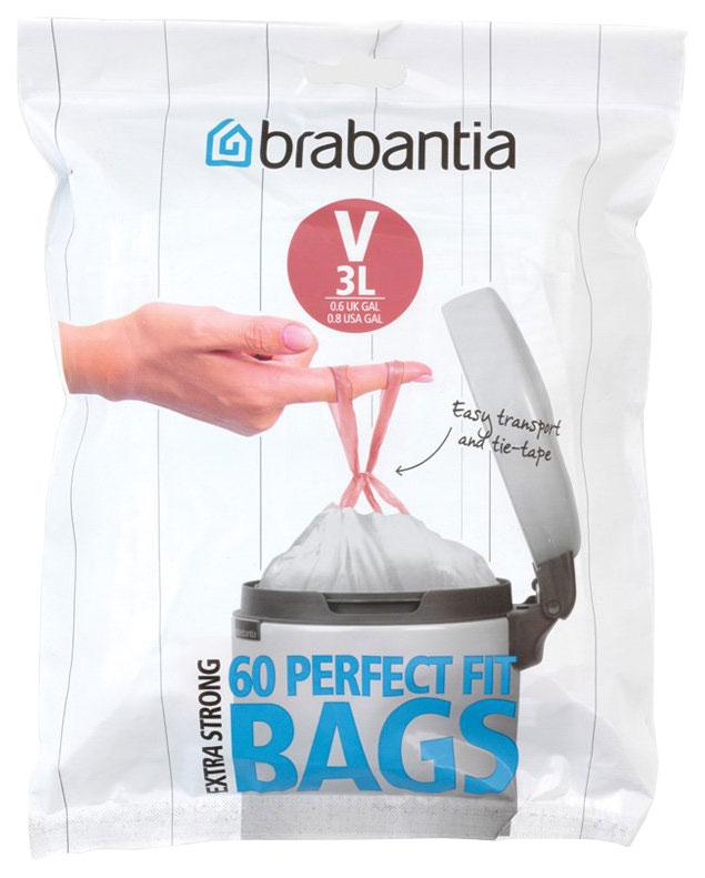 Пакет пластиковый Brabantia 3 л 60 шт