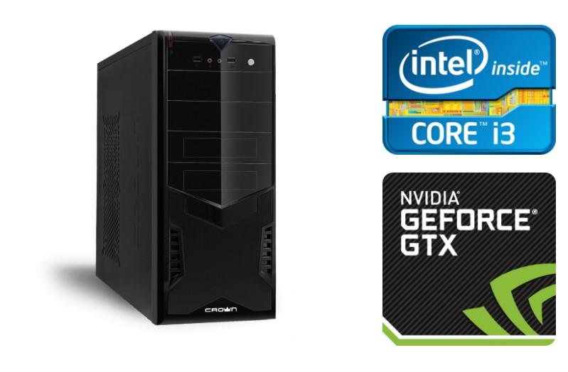 Игровой системный блок на Core i3 TopComp PG 7846357  - купить со скидкой