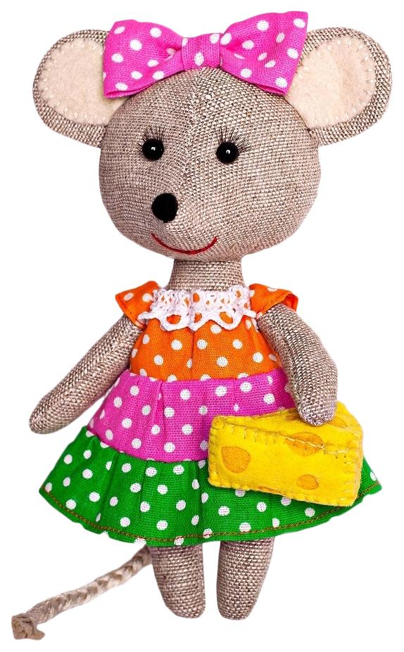 Купить ПЕРЛОВКА Набор для изготовления текстильной игрушки Мышка-Норушка ПЛДК-1457, Перловка, Игрушки с символом года