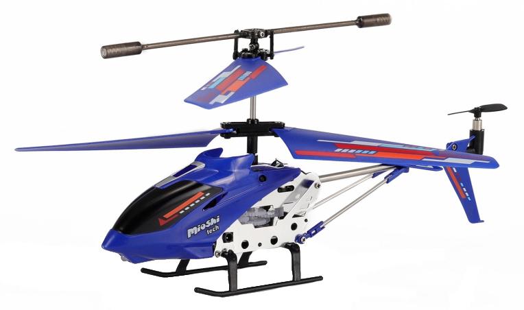 Купить Вертолет на инфракрасном управлении Mioshi Tech X22 синий, Радиоуправляемые вертолеты
