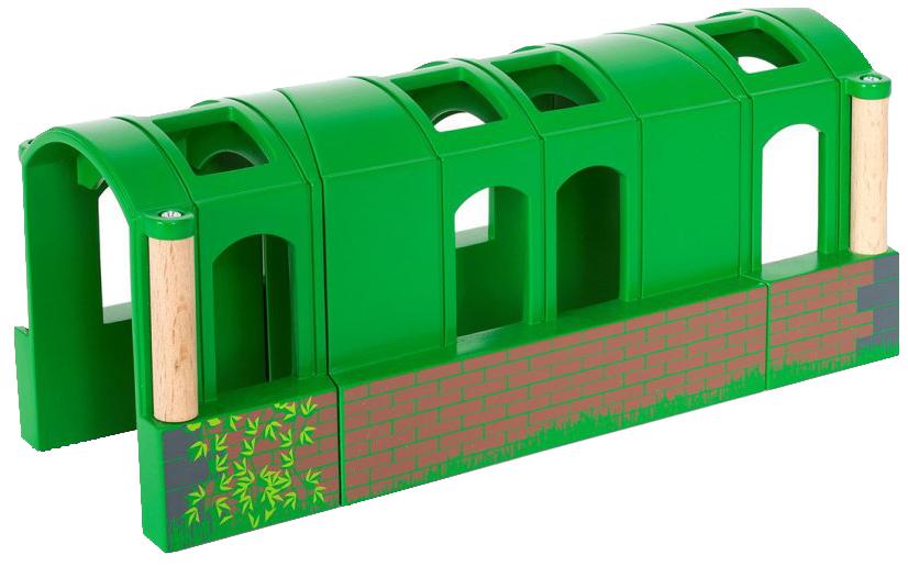 Железнодорожный набор Brio Тоннель трансформер из