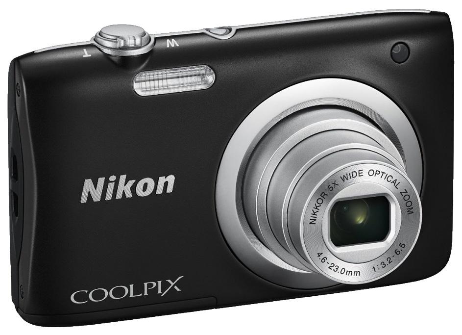 Фотоаппарат цифровой компактный Nikon Coolpix A100 Black