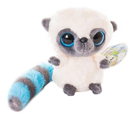 Мягкая игрушка Aurora Юху и его друзья 12-109 Юху голубой, 12 см фото