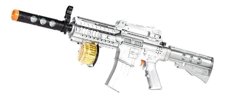 Купить Винтовка М16, Винтовка м-16 электромеханический 70 см на батарейках ars-246, ABtoys, Стрелковое игрушечное оружие