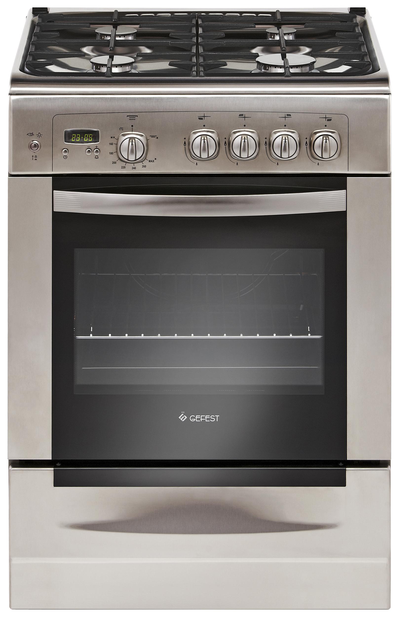 Газовая плита GEFEST ПГ 6100-03 0004 Silver