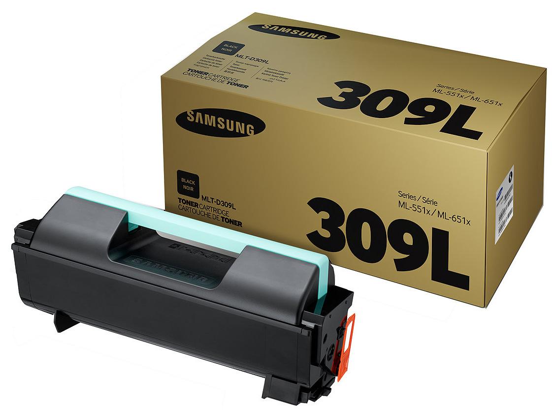 Картридж для лазерного принтера Samsung MLT-D309L, черный, оригинал