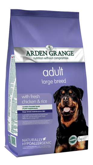 ARDEN GRANGE NATURALLY HYPOALLERGENIC ADULT LARGE BREED