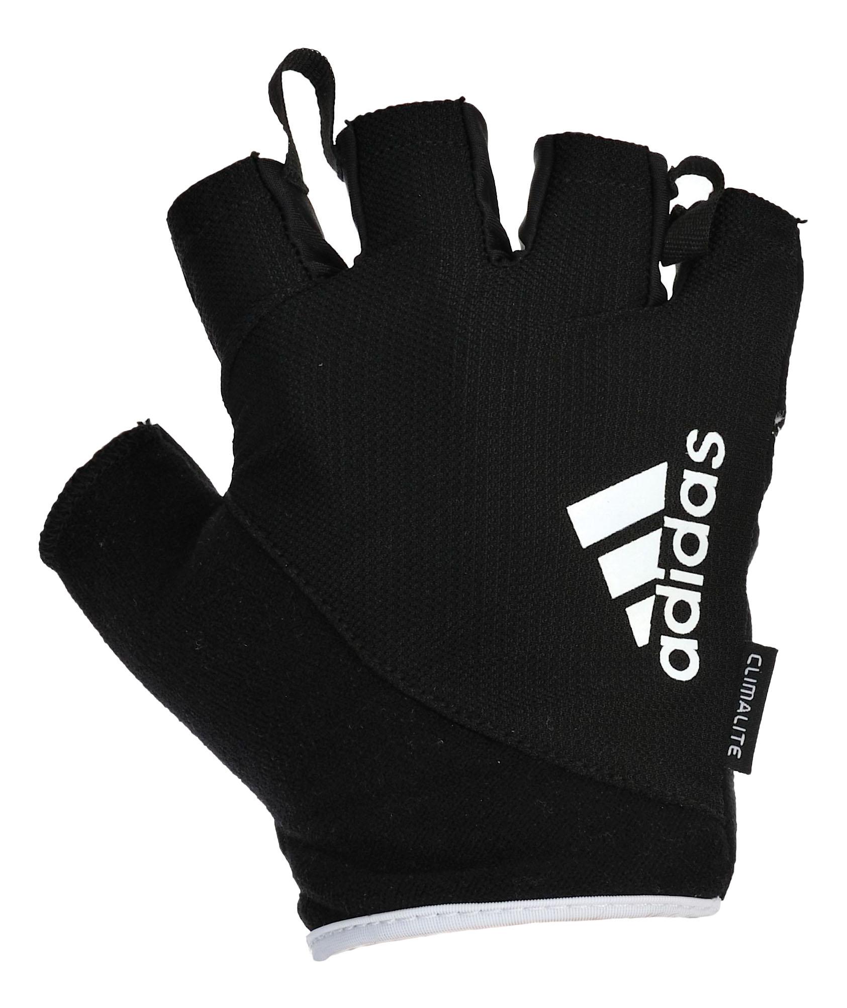 Перчатки для тяжелой атлетики и фитнеса Adidas