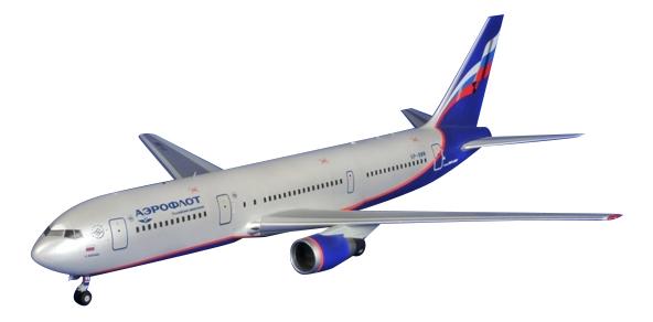 Модели для сборки Zvezda Боинг 767-300