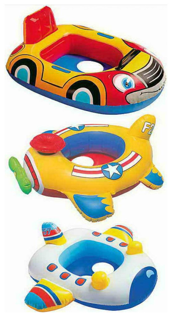 Плот надувной Intex Kiddie Floats, 3 вида