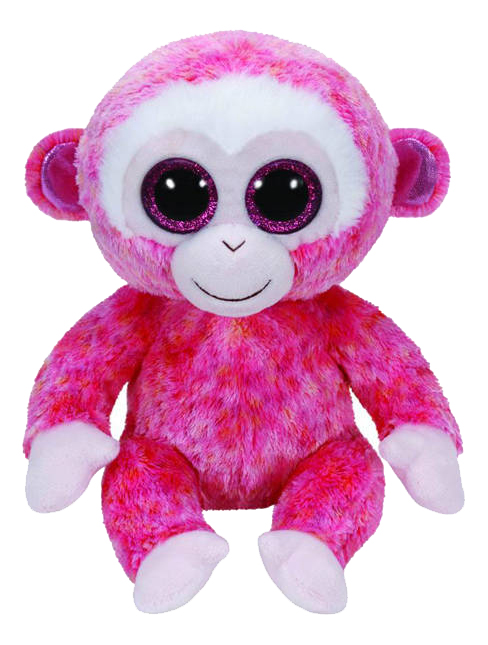 Мягкая игрушка TY Beanie Boos Обезьянка Ruby 25 см beanie Boo's Обезьянка Ruby