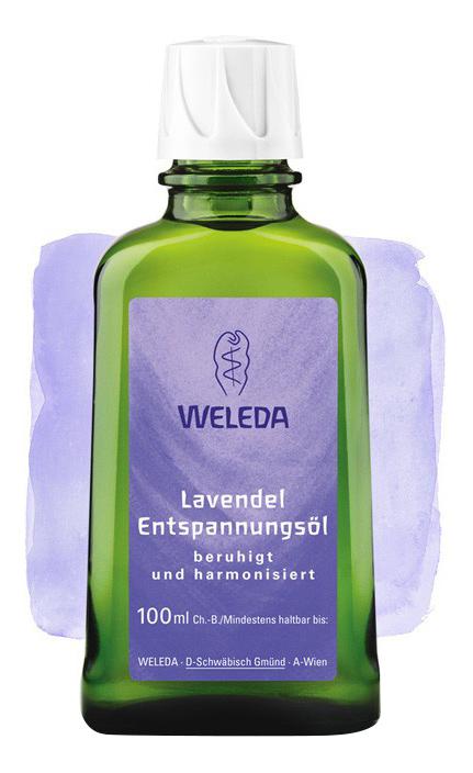 Масло для тела WELEDA расслабляющее с лавандой 100 мл