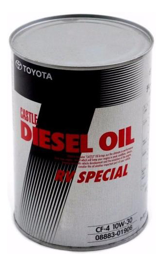 Моторное масло Toyota Diesel Oil RV Special CF-4 SAE 10W-30 1л