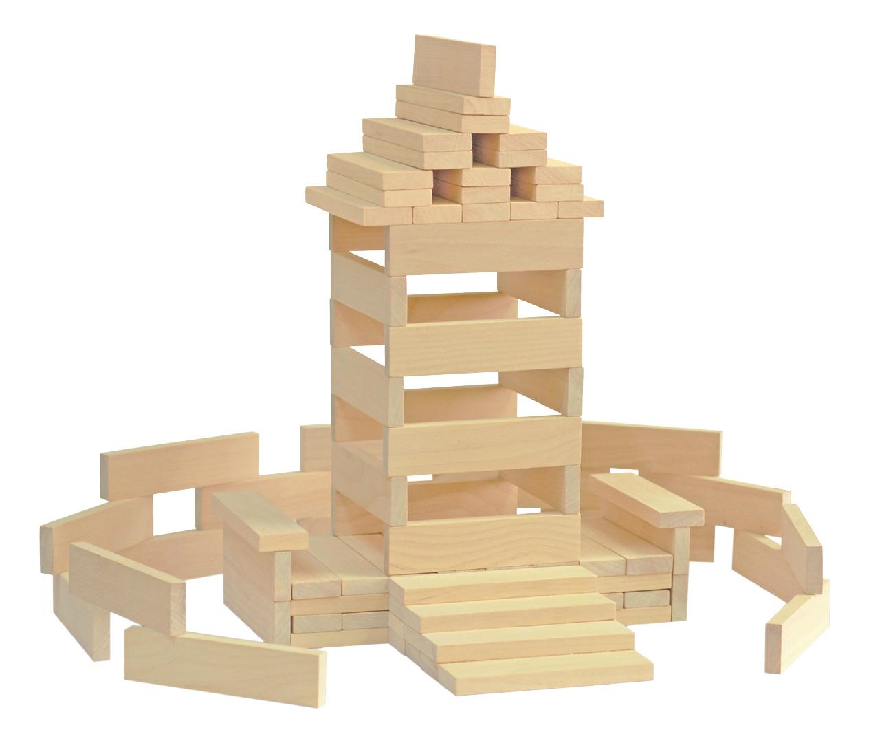 Конструктор для малышей Краснокамская игрушка Брусочки строительные