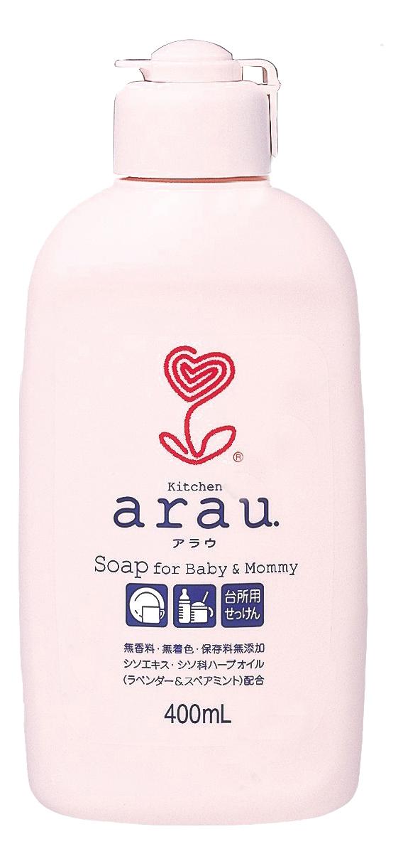 Купить Средство для мытья детской посуды Arau Baby Для мытья посуды 400 мл,