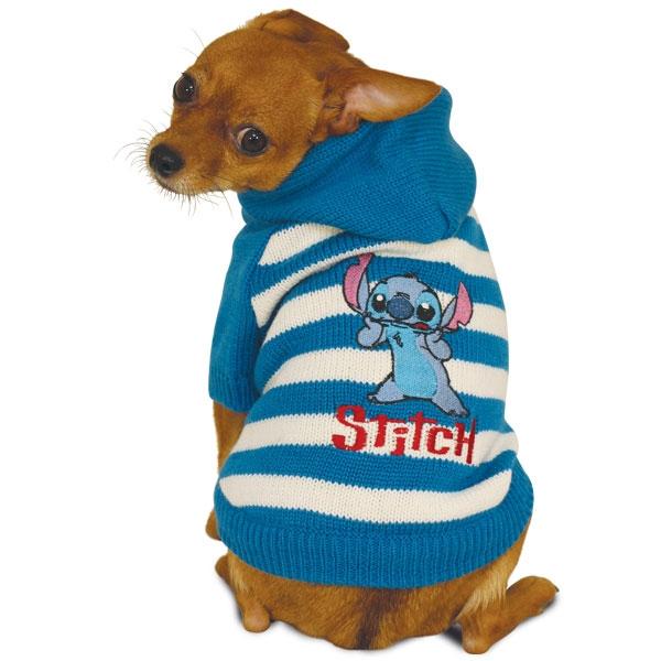 Свитер для собак Triol размер XS мужской, синий, белый, длина спины 20 см фото