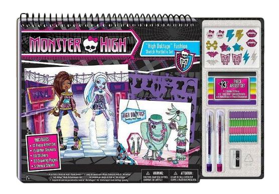 Купить Набор для рисования Fashion Angels Monster High Высший класс,