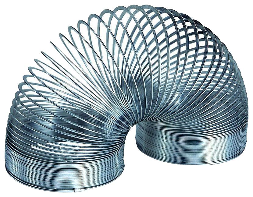 Шагающая пружинка Slinky металлическая СЛ105BL