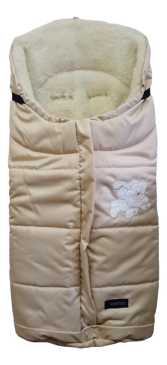 Конверт-мешок для детской коляски WOMAR Wintry бежевый