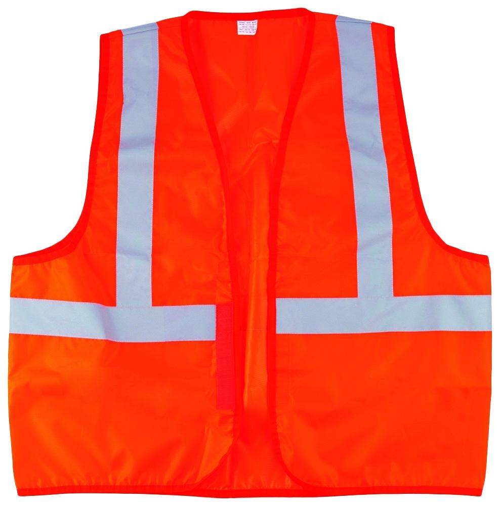 Светоотражающий жилет СИБРТЕХ оранжевый 89514