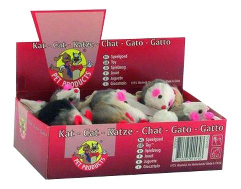 Мягкая игрушка для кошек Beeztees Искусственный мех 5 см 24 шт..