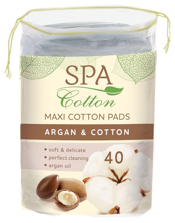 Ватные диски SPA Cotton Argan 40 шт