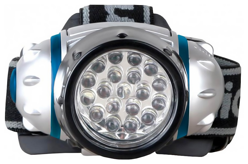 Туристический фонарь Camelion 5313-19F4 серебристый, 4 режима