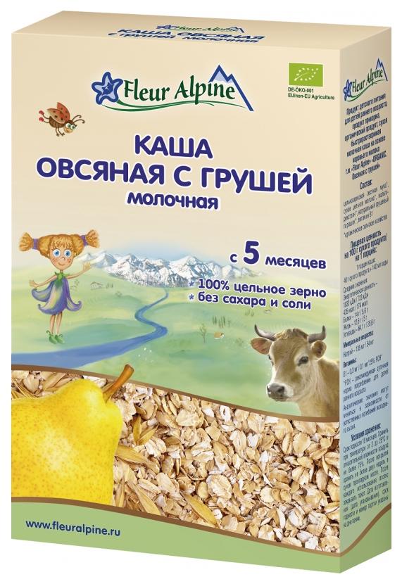 Молочная каша Fleur Alpine Овсяная с грушей с 5 мес 200 г