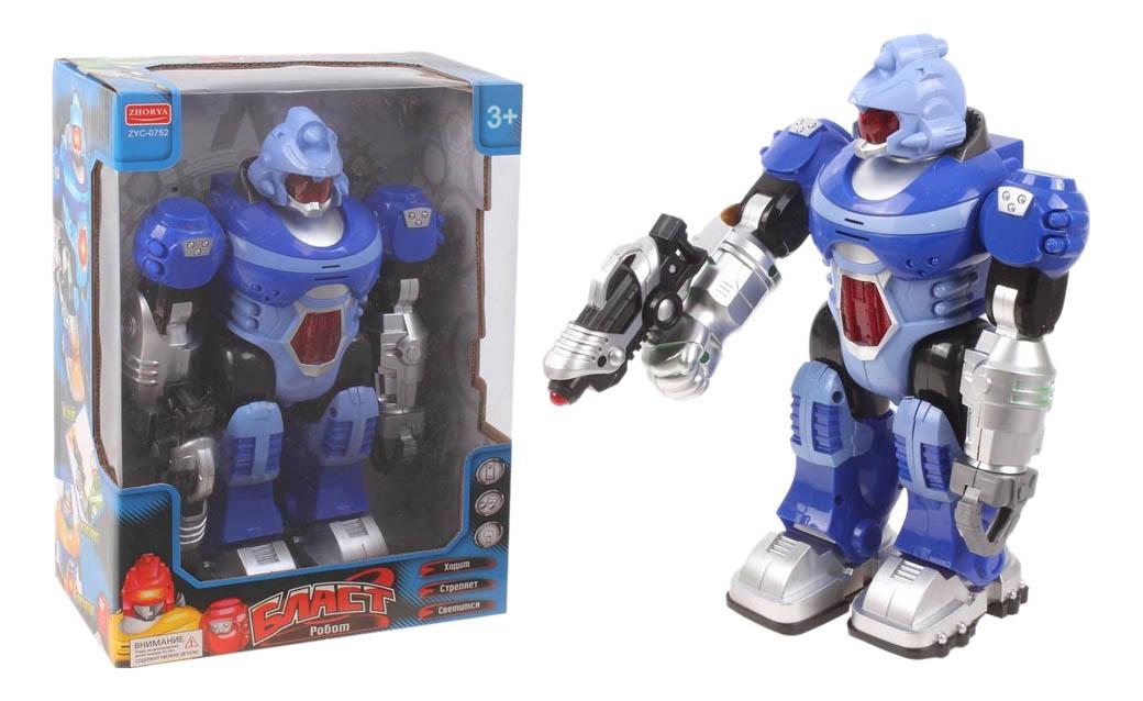 Купить Интерактивный робот Zhorya Бласт ZYC-0752-3, Интерактивные мягкие игрушки