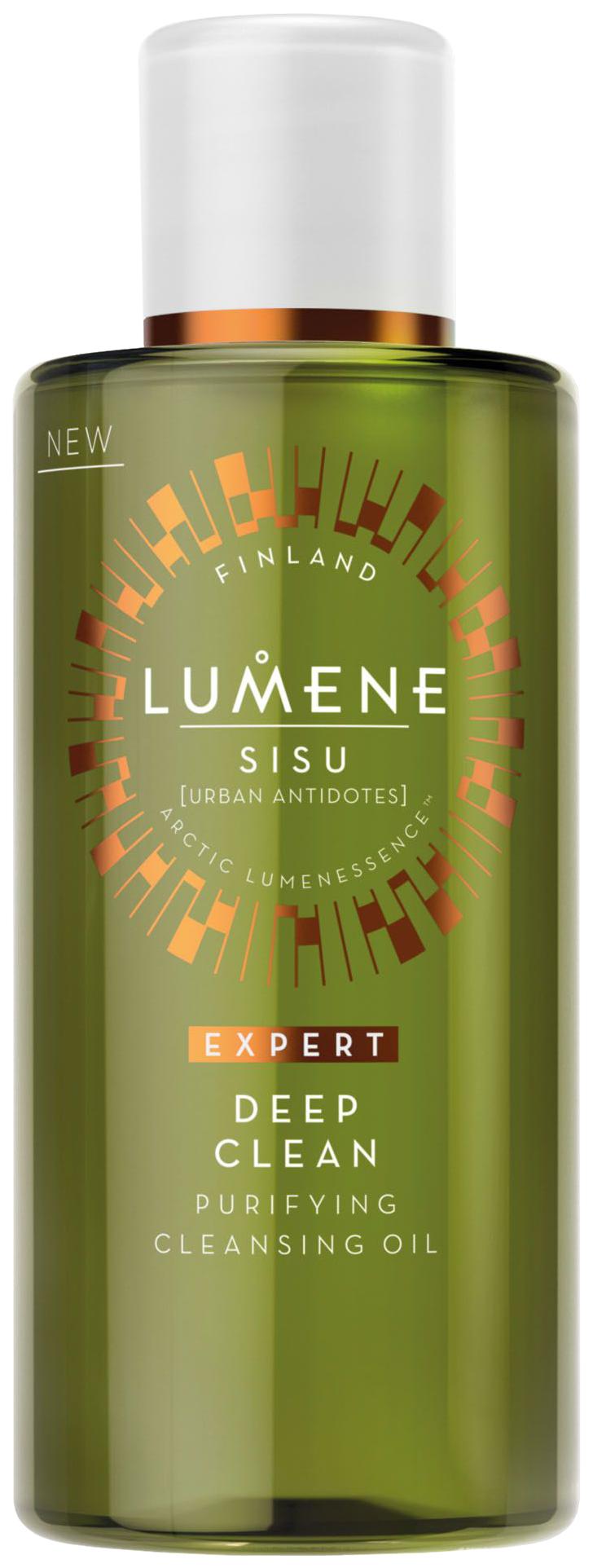 Масло для лица Lumene Sisu Глубоко очищающее 150 мл