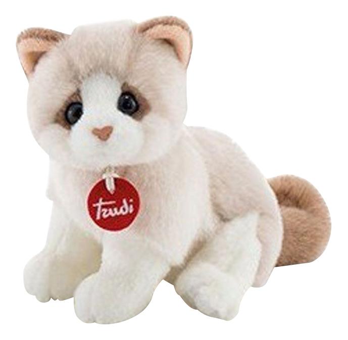 Купить Котёнок Брэд 24 см, Мягкая игрушка Trudi Котёнок Брэд, 24 см, Мягкие игрушки животные