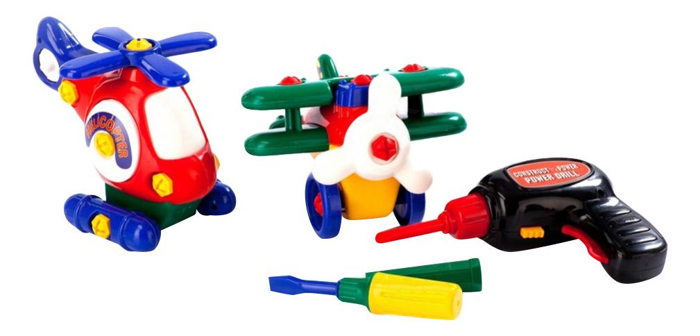 Конструктор пластиковый BRADEX Маленькая авиация