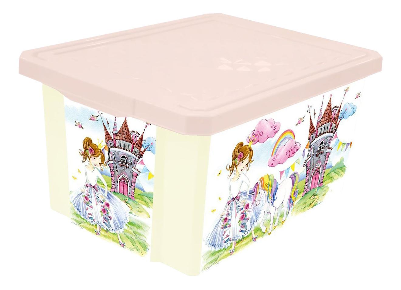 Ящик для игрушек X-Box Сказочная Принцесса Little Angel