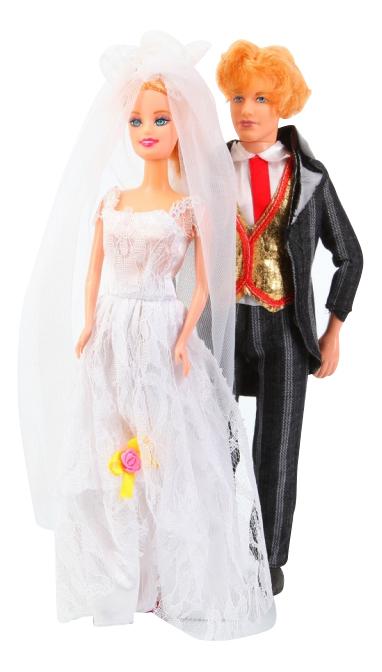 Набор кукол Жених и невеста 32 см Shenzhen Toys Д41862