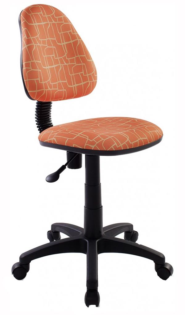 Купить Кресло детское Бюрократ KD-4/GIRAFFE Оранжевый жираф, Детские стульчики