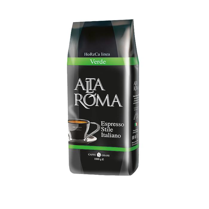 Кофе в зернах Alta Roma verde 1000 г