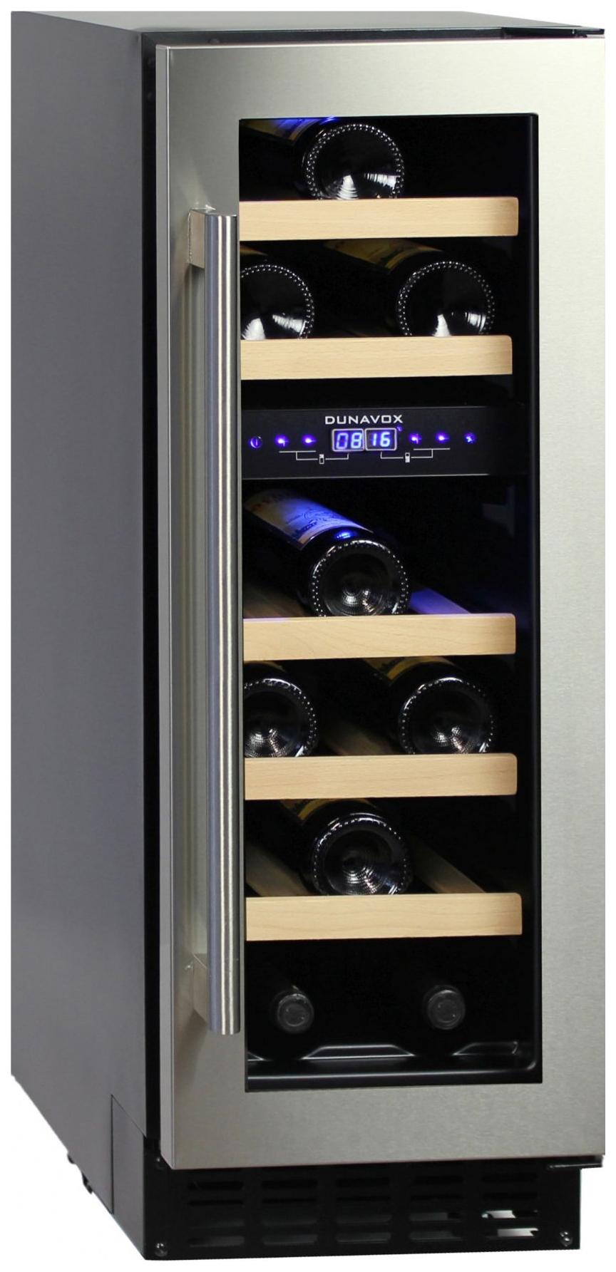 Встраиваемый винный шкаф Dunavox DAU 17.57DSS