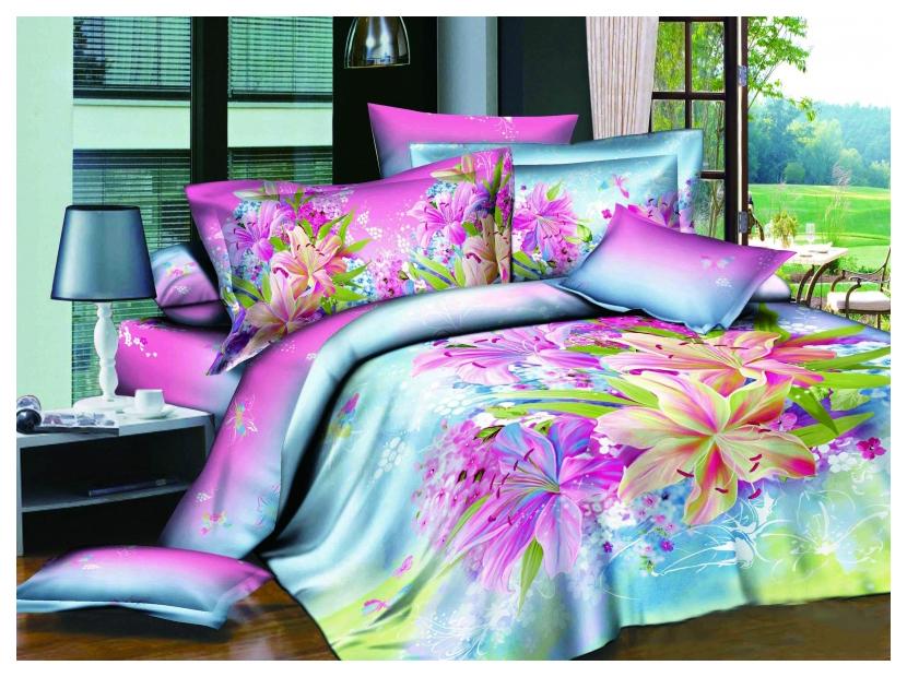 Комплект постельного белья Mioletto 3D сатин D-007 Двуспальный
