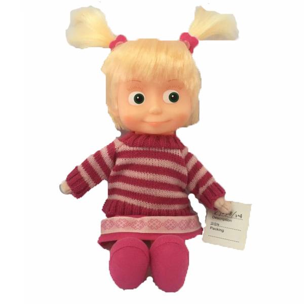 Купить Маша в свитере, Мягкая игрушка Мульти-Пульти Маша 29 см в свитере (маша и медведь),