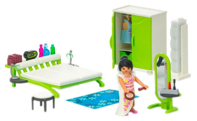 Купить Спальная комната, Игровой набор Playmobil Городская жизнь Спальная комната 9271, Игровые наборы