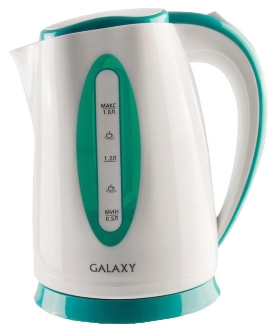 Чайник электрический Galaxy GL0219 Green/White
